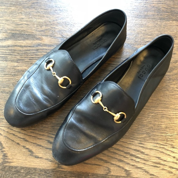 a51ece4e0e6 Gucci Shoes - Gucci Brixton Leather Horsebit Loafer 37